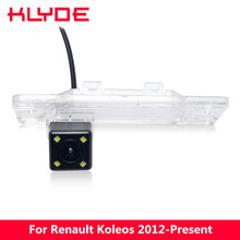 KLYDE 170 Degree Waterproof Night Vision HD Car Rear View Reverse Parking Assistance Camera For Renault Koleos 2012 2013-Present
