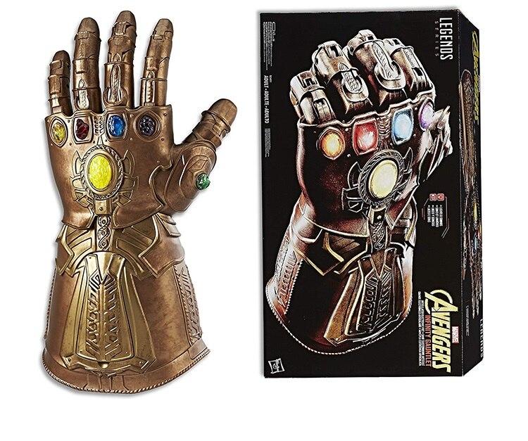 Gantelet Infinity Marvel légendes version originale avec lumières et sons gants Cosplay poing électronique