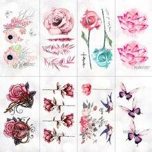 Popularne Tatuaż Wzory Kwiaty Kupuj Tanie Tatuaż Wzory