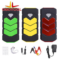 ObdTooL High Quality Mini Car Jump Starter 12V Car Stlying Starting Device 400A Charger Car Battery