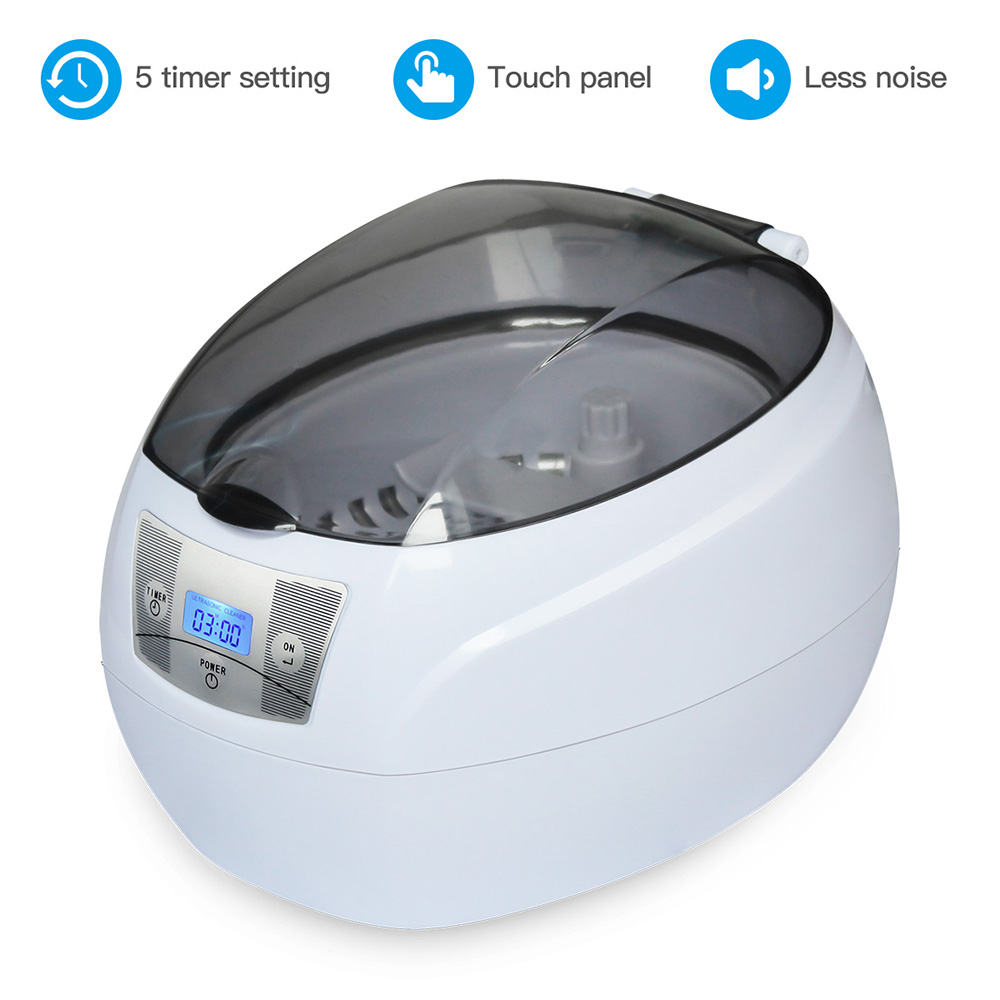 SKYMEN 750ml Stainless Steel Jewelry Eyeglass Wacth Manicure Tools Ultrasonic Cleaner Ultra Bath