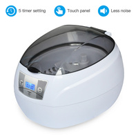 SKYMEN 750ml Stainless Steel Jewelry Eyeglass Wacth Manicure Tools Ultrasonic Cleaner Ultra Bath