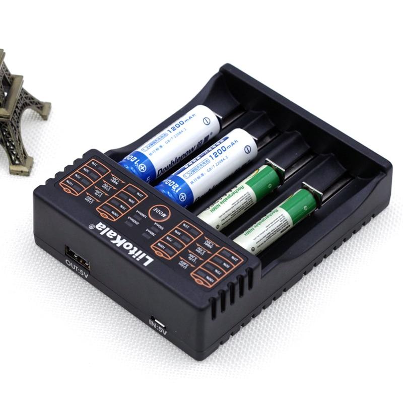 Liitokala Lii-S2 Lii-402 18650 Charger, Charging 18650 1.2V 3.7V 3.2V 18350 26650 NiMH Lithium Battery Charger