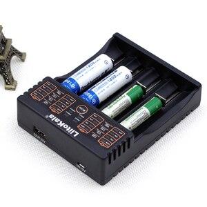 Image 3 - Liitokala cargador Lii S2 Lii 402 18650, carga 18650 1,2 V 3,7 V 3,2 V 18350 26650 NiMH cargador de batería de litio