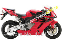 Hot Sales,For Honda CBR1000 RR 2004 2005 CBR1000RR 04 05 CBR 1000RR Fairings red motorcycle ABS Body Kit (Injection molding)