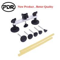 Ferramentas De PDR Carro Kit de Reparo Do Carro Kit Ferramenta de Reparação de Automóveis Conjunto de Ferramentas de Remoção Paintless Dente Puxando Ponte Dent Extrator Melhor qualidade