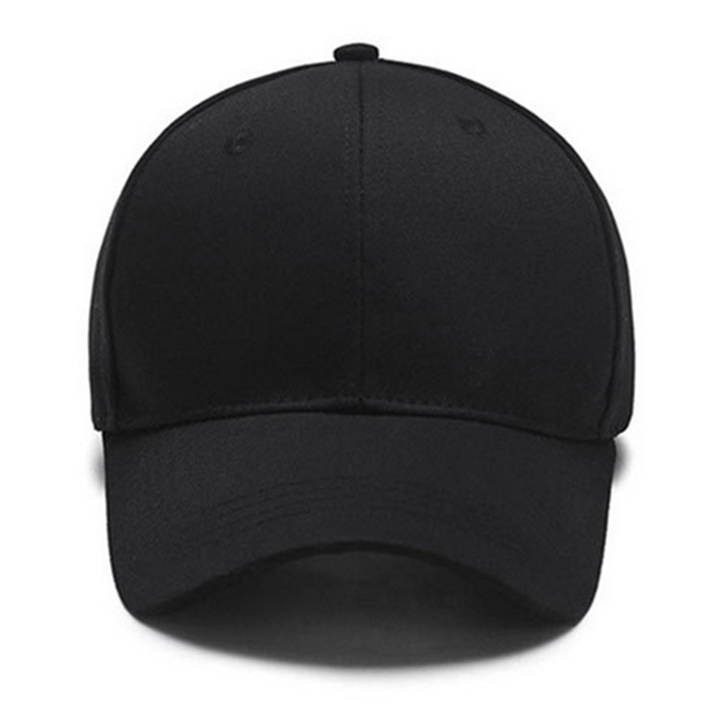 a2fdb688ca0 VICVER Snapback Baseball Cap Plain Canvas Dad Hat Hip Hop Men White Solid