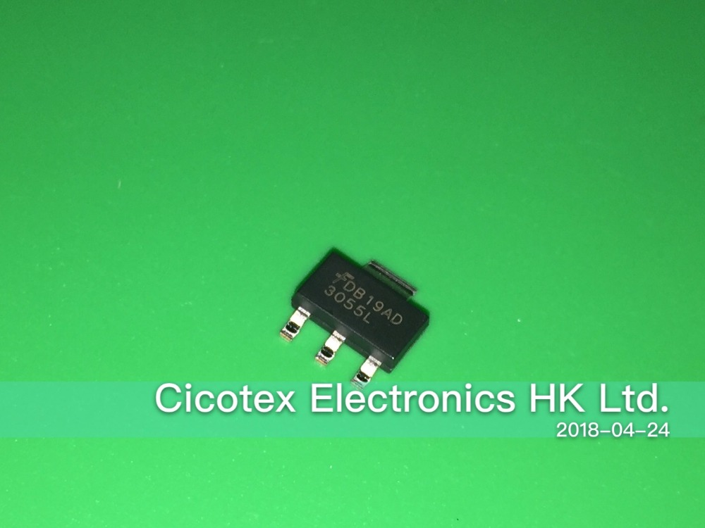Motor Controller Brave 10pcs/lot Ndt3055l Sot223 Mosfet N-ch 60v 4a Sot-223-4 3055l 30551 With The Most Up-To-Date Equipment And Techniques Motors & Parts