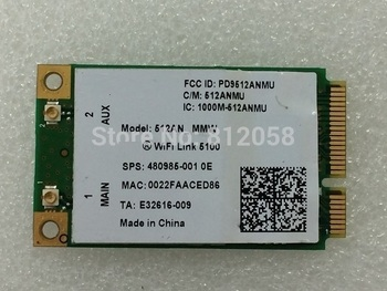 SSEA New For Intel wifi link 5100 5100AN WiFi Wireless card for HP DV4 DV5 DV7 CQ40 CQ50 CQ60 2730P 6520S 6530S 8730w 480985-001 image
