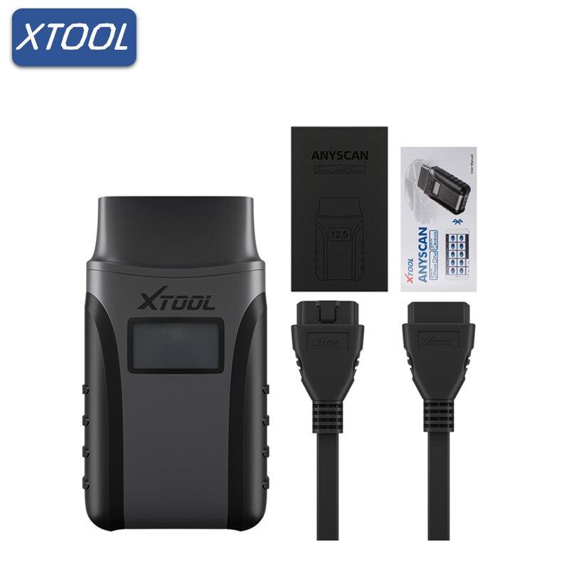 XTOOL Anyscan A30 Tous Les Système Détecteur De Voiture OBDII Lecteur de Code Scanner Anyscan Poche Diagnostic Kit