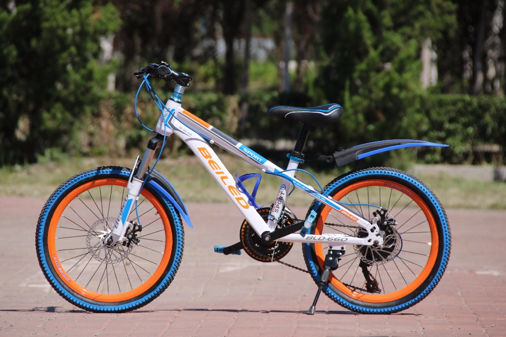 20 inch Kid's Bicycles 21 Speed MTB Bike Double Disc Brake bicicleta Cycling Child's Bicycle bicycles