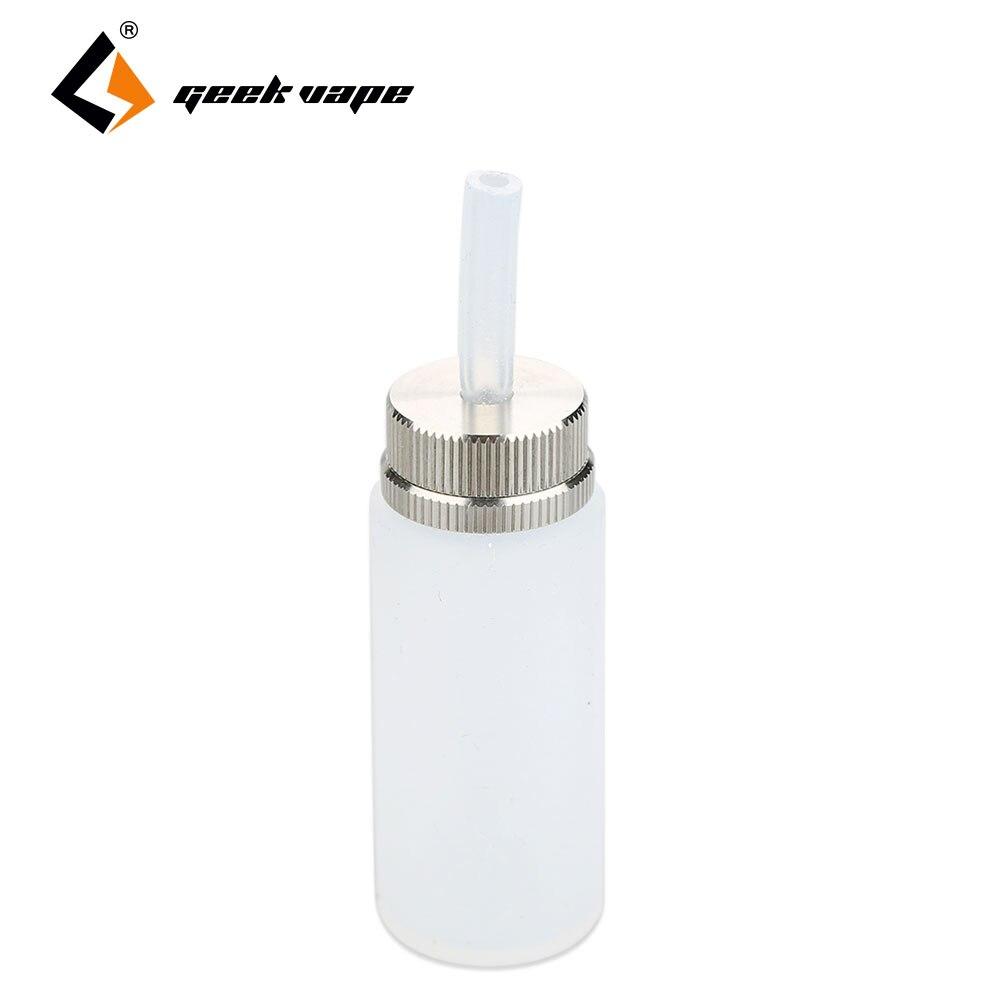 100% Originale GeekVape Silicone Squonk Bottiglia 6.5 ml per GeekVape Athena Squonker Mod/Kit E-Cig Accessori Big Bottiglia di capacità