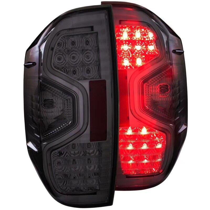 eOsuns светодиодные задние фонари Ассамблеи со стоп-сигналы вспять фары для Тойота тундра 2013-17