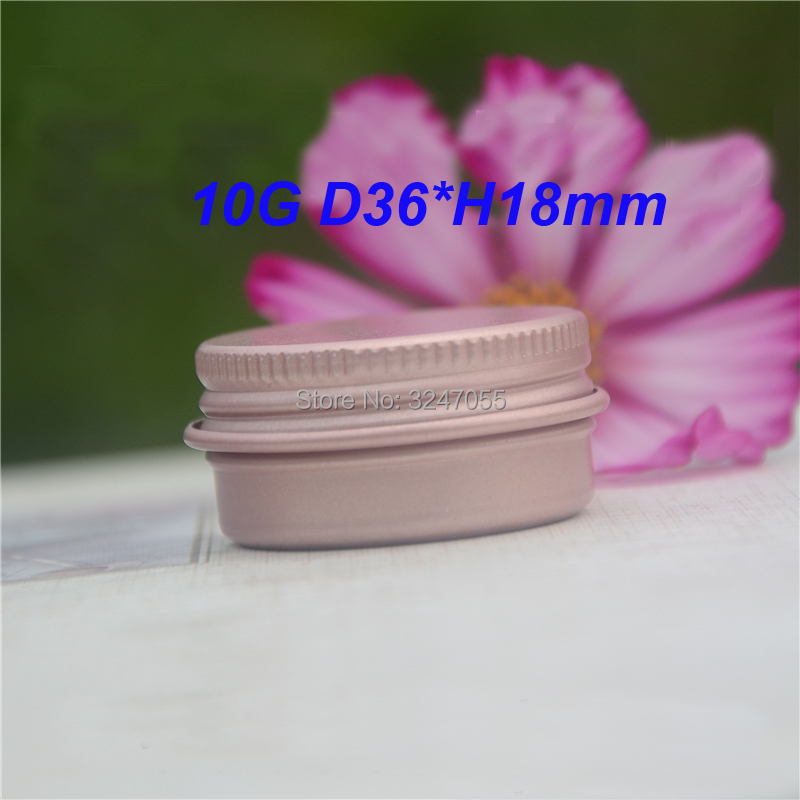 10ml/g 50/100/200pcs Aluminum Cosmetic Cream Container,Rose Gold Metal Tin Ointment Refillable Jar,Aluminum Lipstick Packing Pot sumifun 100% original 19 4g red white tiger balm ointment thailand painkiller ointment muscle pain relief ointment soothe itch
