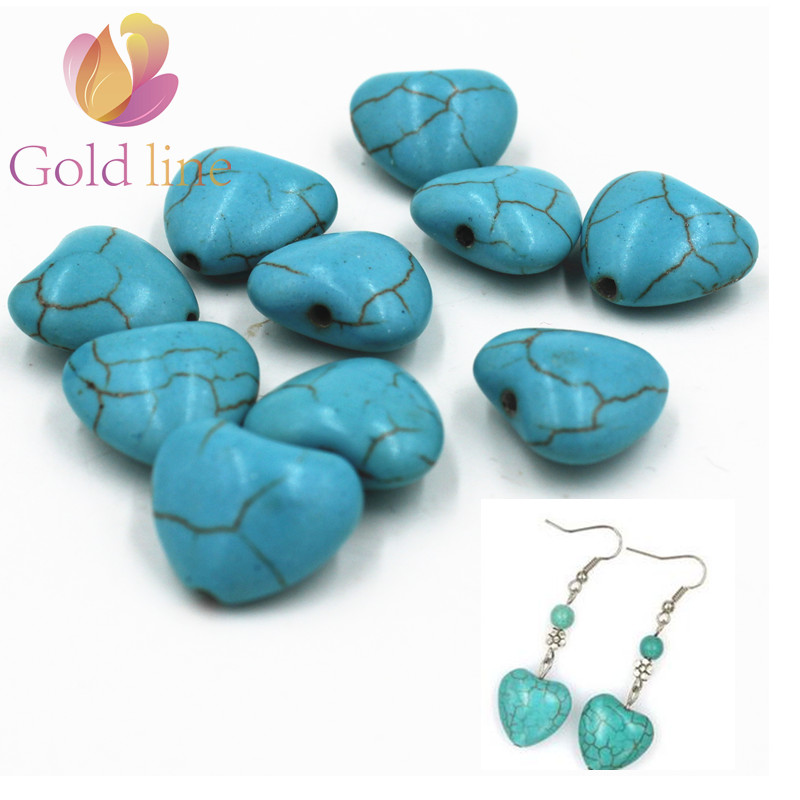 20 шт. сердце Свободные Spacer Loose Камень Jewelry DIY изготовления ювелирных изделий фитинги