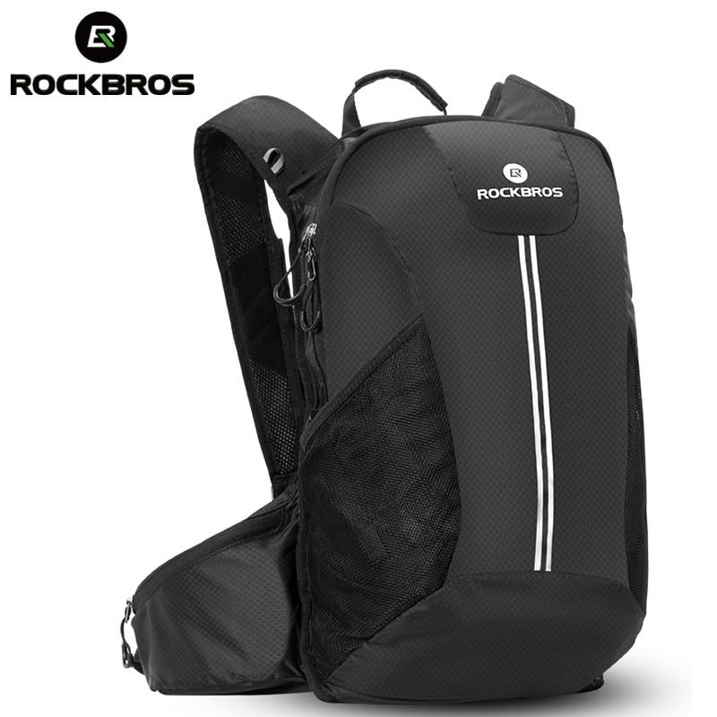 ROCKBROS Cycling Bike Rainproof Hiking Backpack Bag Outdoor Sport Camping Hunting Climbing Travel Bag Big capacity Package Trunk