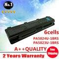 New 6 células de bateria do portátil para Toshiba Qosmio T752 B352 T652 C805 C855 L850 L855 M800 PA5024U frete grátis
