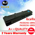 Wholesale New 6 cells Laptop battery For Toshiba Qosmio T752 Satellite B352 T652 C805 C855 L850 L855 M800 PA5024U Free shipping
