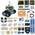 2017 Ano Novo presente! Keyestudio DIY Mini Tanque Robot para arduino carro Robô/carro Inteligente + manual de instruções