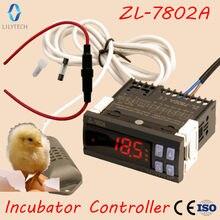 ZL-7802A, 100-240vac, incubadora de temperatura e umidade, incubadora automática multifuncional, controlador de incubadora, lilytech