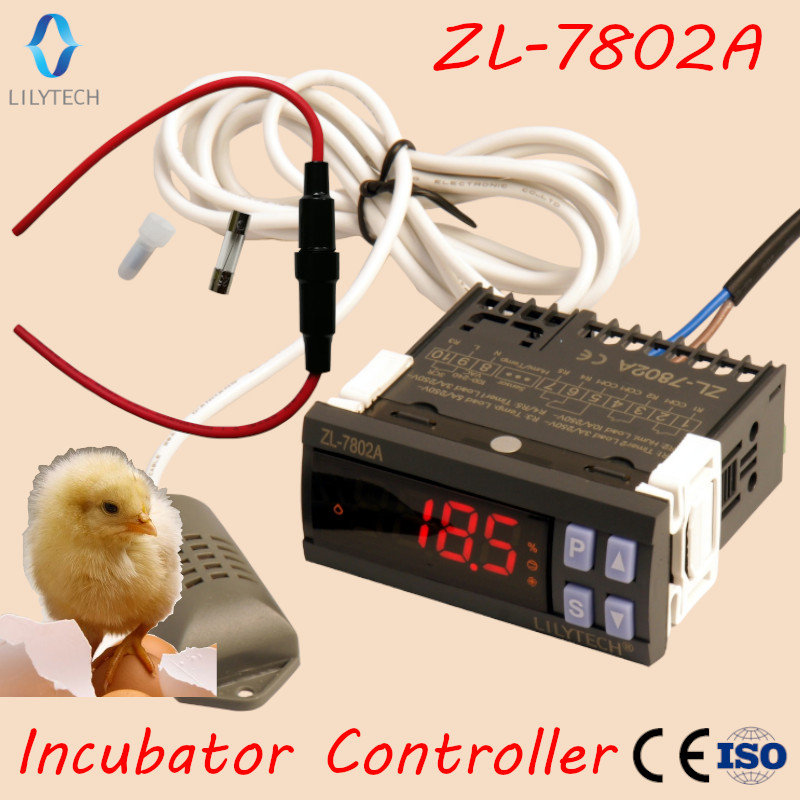 ZL-7802A,100-240VAC, Temperature Humidity for incubator,Multifunctional Automatic incubator,Incubator Controller,LilytechZL-7802A,100-240VAC, Temperature Humidity for incubator,Multifunctional Automatic incubator,Incubator Controller,Lilytech