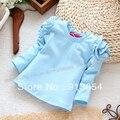 Весна осень одежда для младенцев дети футболки приталенный длинная - рукав футболки младенцы верхняя одежда дети t - рубашки