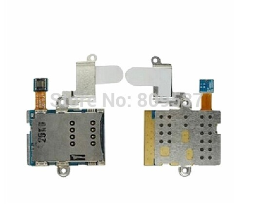 For Samsung Galaxy Note 10.1 N8000 SIM Card Slot Contact Flex Cable Without Metal Bracket