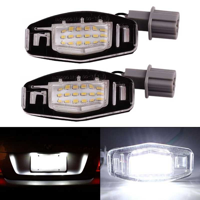 Detail Feedback Questions about SITAILE 2pcs 18 LED License Plate