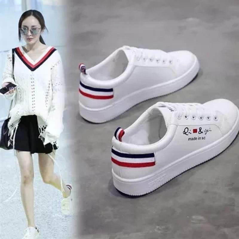 Nouvelle Chaussures 2 Dames Blanc Mode 1 Plates Casual 2018 D'été fFIIaR