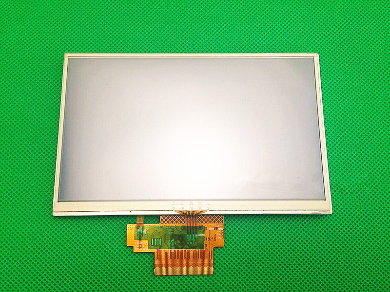 Original 5 inch LCD screen For TomTom VIA 180 GPS display screen with touch screen digitizer panel 7 inch gps lcd screen display panel with touch screen ltp700wv f01