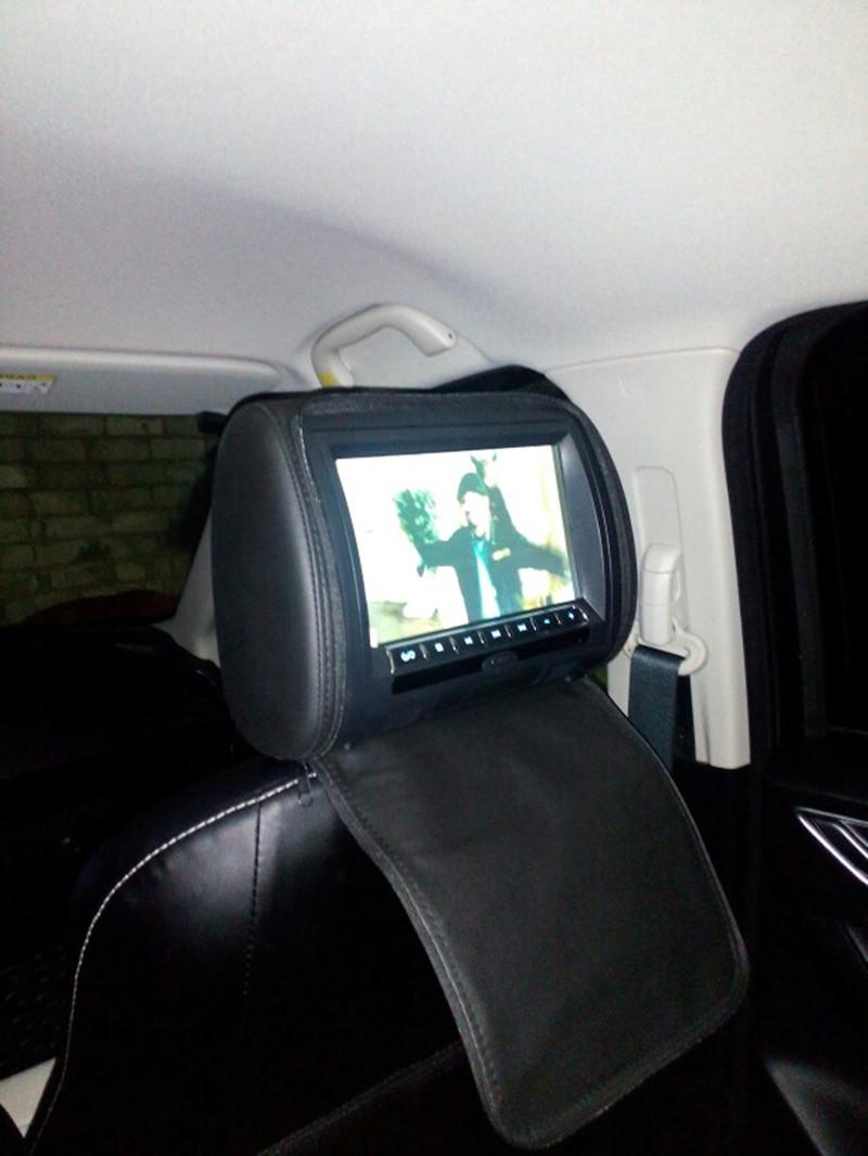 9inch headrest installed