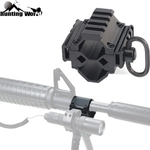Tactical Hunting Tri-rail Barrel Scope Mount Bipod Mount Adapter w/ QD Sling Swivel for Mossberg 500 Remington 870 12Ga Shot Gun(China)