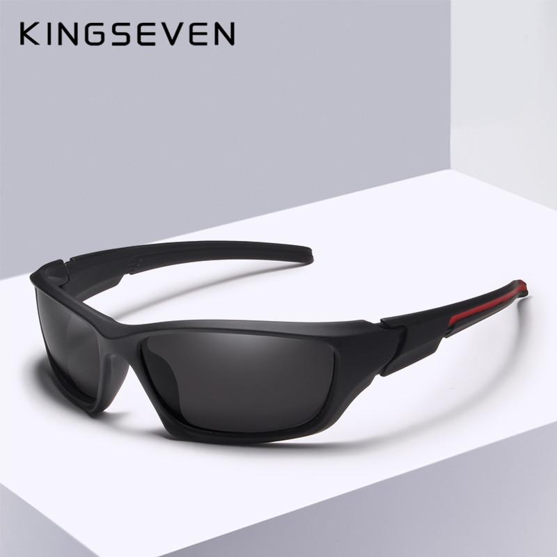 Kingseven Značka Klasické sluneční brýle Muži Polarizované brýle Řízení Originální příslušenství Sluneční brýle pro muže / ženy Oculos De Sol