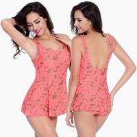 Wholesale Floral Print Super Excellent Quality Traditional Female Sexy Design Plus Size Women Swimwear XL 2XL