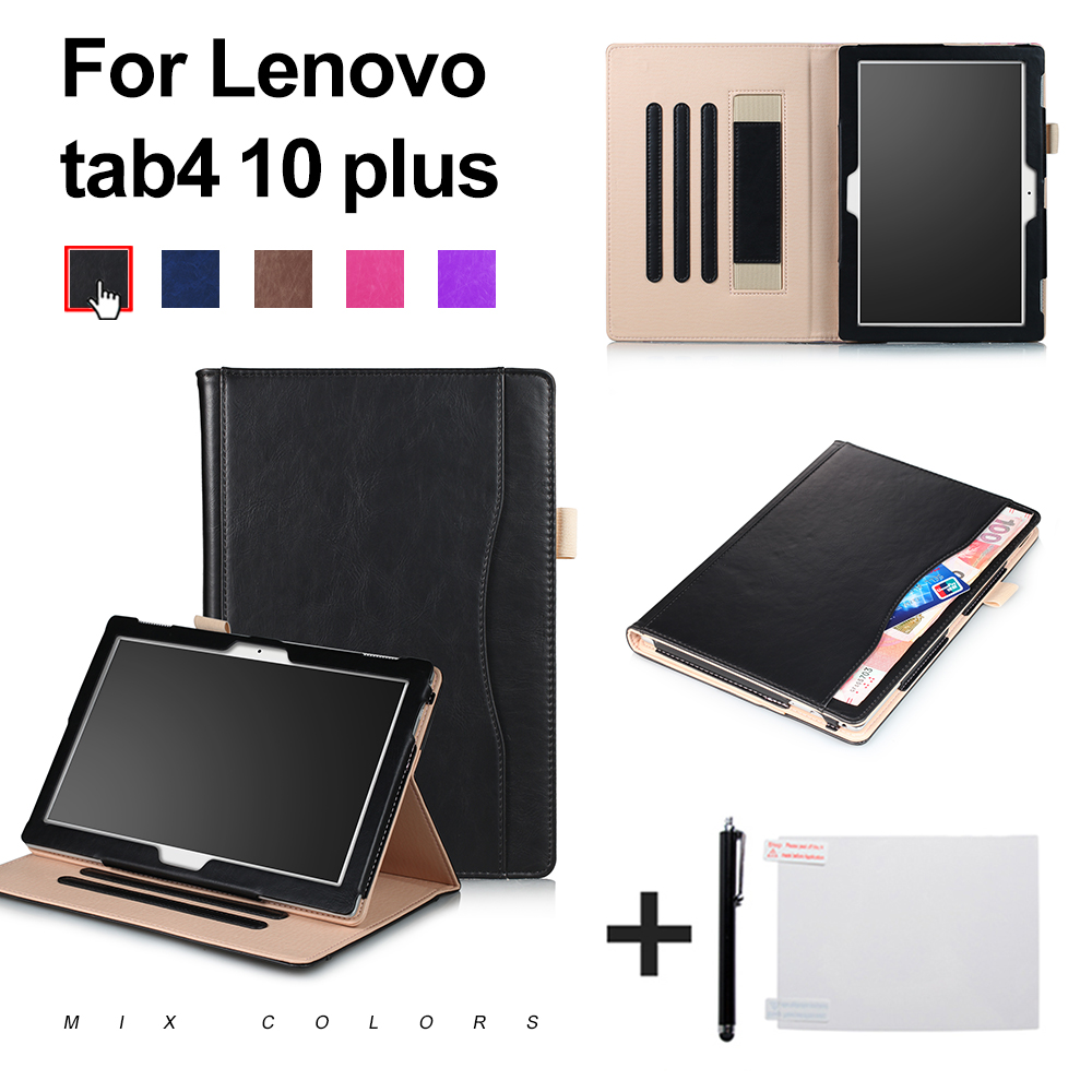 Cover case for 2017Lenovo TAB 4 10 TB-X304F/N / tab 4 10 Plus TB-X704F/N 10.1 inch new stand protective cover skin+gift gift n home