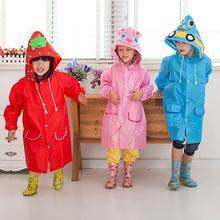 Плащ-Тренч; детская одежда; плащ-дождевик для детей с героями мультфильмов; непромокаемый плащ-дождевик для девочек; непромокаемая одежда для детского сада; детский дождевик