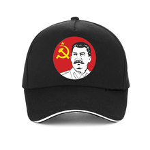Summer New Fashion Russian cap USSR Stalin Print Baseball cap Unisex Russian President Stalin adjustable bone snapback hat young stalin