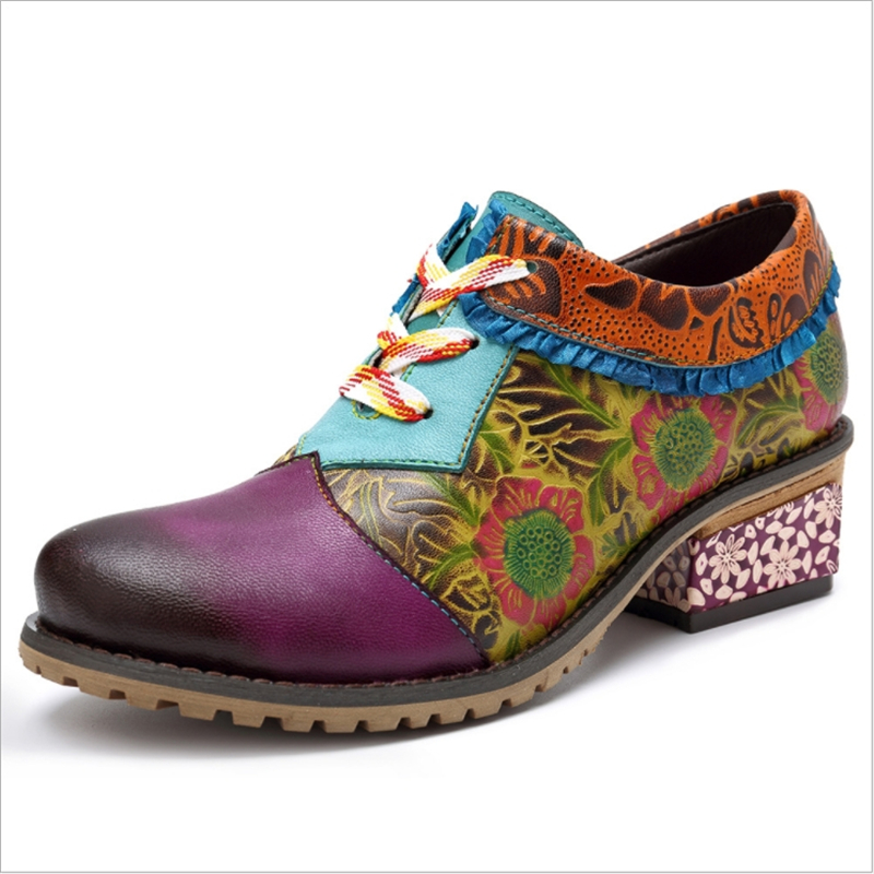 Women Flats Genuine Leather Oxfords Shoes Handmade Casual Round Toe Lace Up 2019 New Fashion Design Mix Color 2019Women Flats Genuine Leather Oxfords Shoes Handmade Casual Round Toe Lace Up 2019 New Fashion Design Mix Color 2019