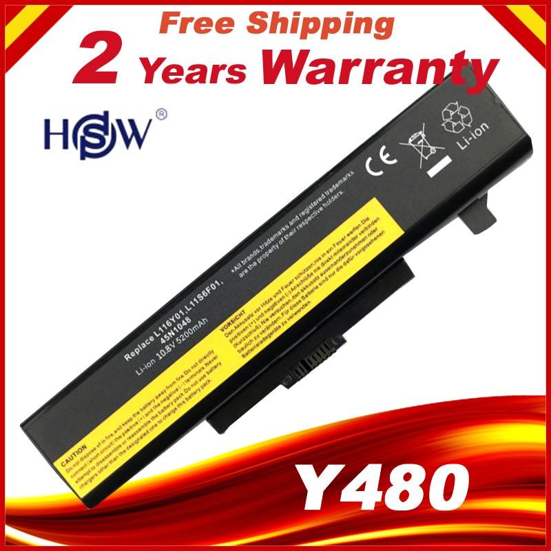 Bateria do portátil para LENOVO G580 Z380 Y480 G480 V480 Y580 L11S6Y01 L11L6Y01 L11O6Y01 L11S6F01 L11L6F01 L11P6R01