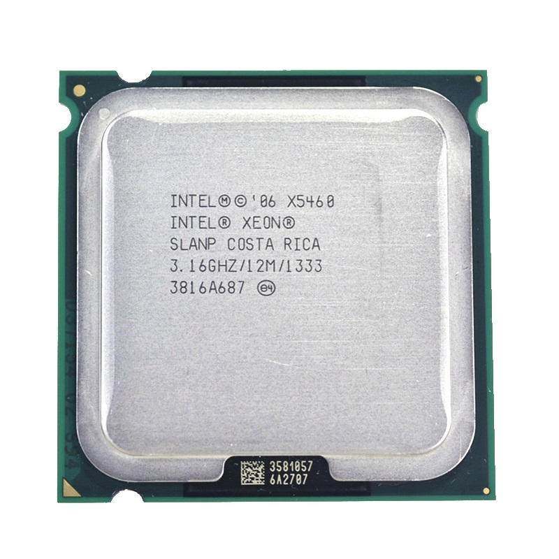 Intel Xeon X5460 3.16GHz Quad Core 12M 1333MHz CPU Processor SLANP SLBBA