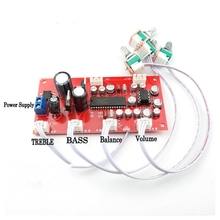 UPC1892CT + NE5532 Tone plate Volume control Board Preamp amplifier With treble bass balance volume adjustment
