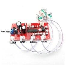 UPC1892CT + NE5532 piastra Tono amplificatore di Scheda di controllo del Volume di Preamplificazione Con alti bassi bilanciamento regolazione del volume