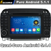 4 Cores Quad Core Pure Android 5 1 Car DVD Player For Mercedes Benz S Class