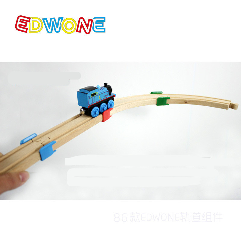 Thomas and Friends -- Thomas Wooden Train Track Railway Accessories --The Wooden Track Plastic Holder Tight Wood Tracks