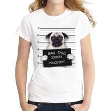 Mugshot Pug T-Shirt