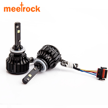 Meetrock Led light car 880 30w 3000lm auto lamp cree LED chips 881 12v canbus 6000K xenon for acura halogen bulb