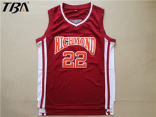 2017 New Mens Cheap Throwback Basketball Jerseys #22 Timo Cruz Jersey Richmond Oilers Movie Retro Stitched Basketball Shirt
