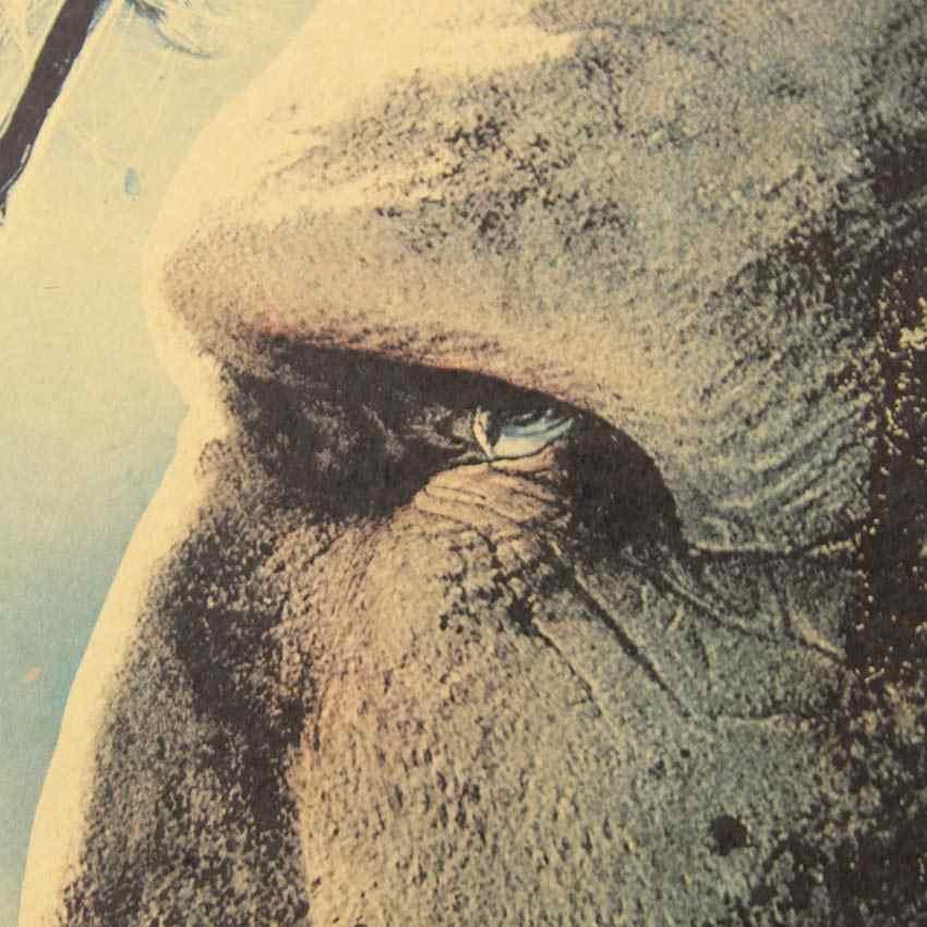 1 шт. Гарри Поттер часть 2 постер Дары смерти серии бумага для поделок в стиле ретро античный плакат настенный стикер Кафе Декор 51,5X36 см