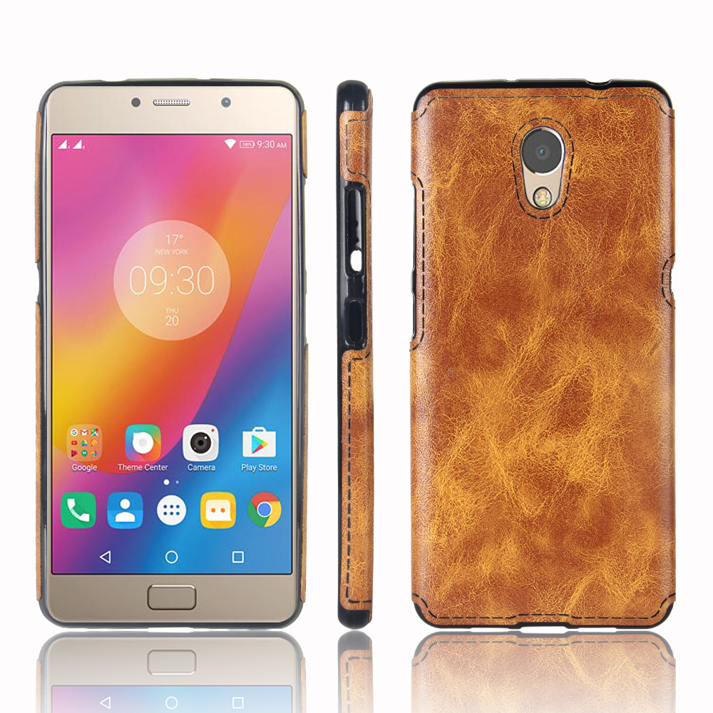 best sneakers 14174 29316 For Lenovo Vibe P2 Case Simple Fashion Ultra-thin Silicone & PU Leather  Case For Lenovo P2 Cover 5.5inch