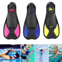 1 Pair Men Women Shoes Swimming Fins Underwater Hunting Diving Flippers Submersible Diving Foot Monofin Accessories
